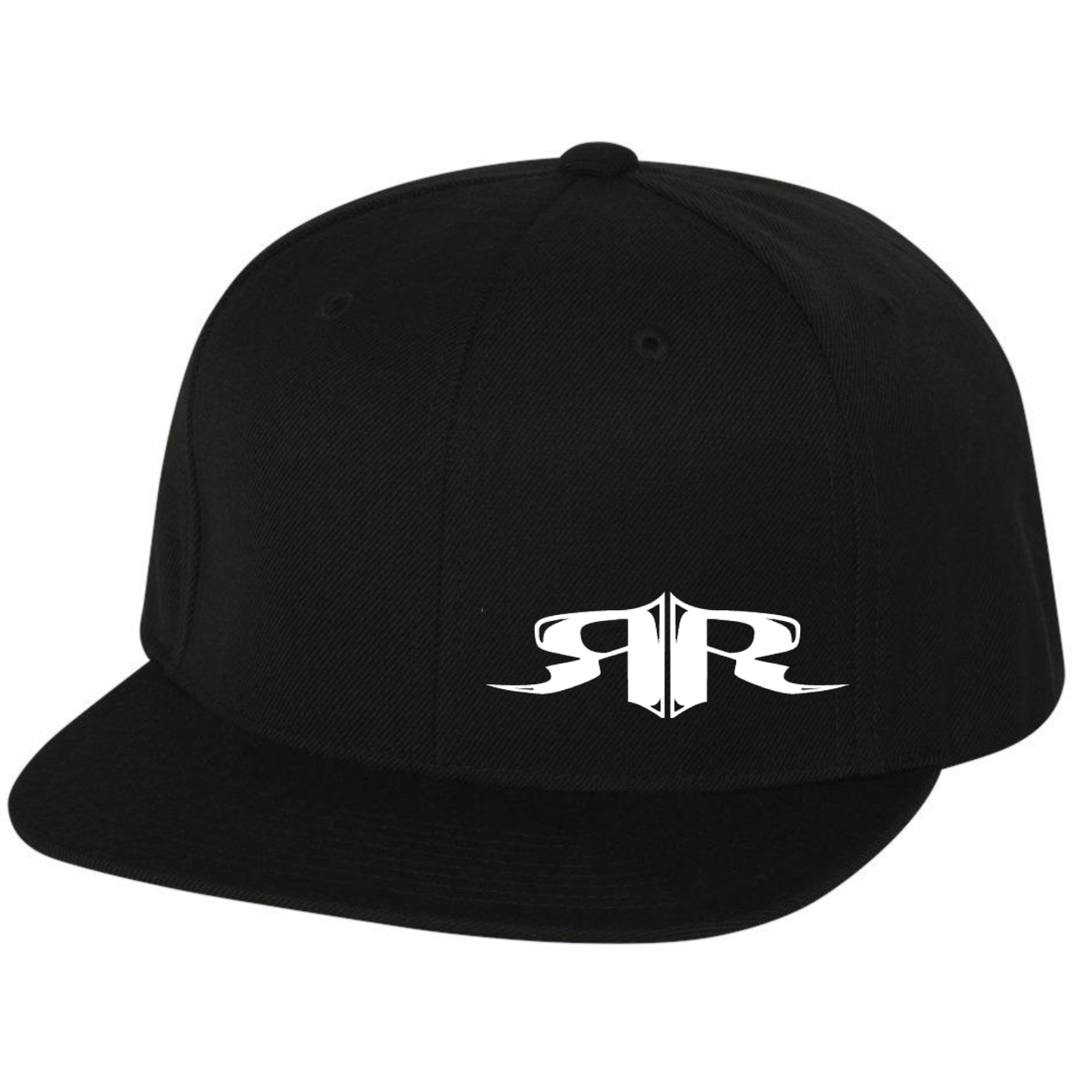 RUHNE RACING | ICON SERIES - FLAT BILL SNAPBACK CAP (BLACK)